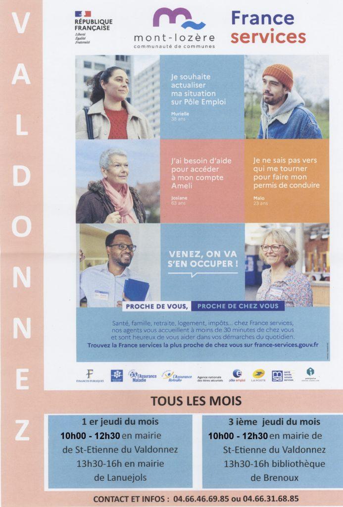 Permanences France services