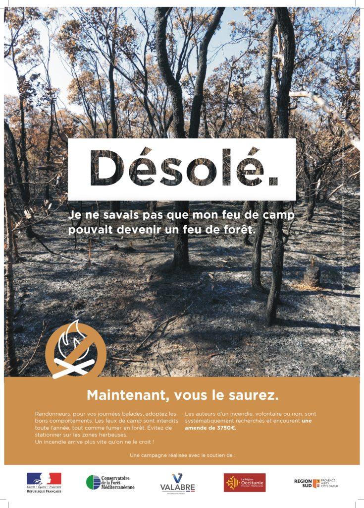Prévention incendie de forêt