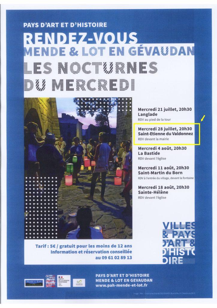 Visite guidée du village de Saint-Étienne !